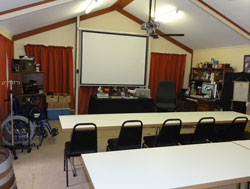 The Alpha Canine Group purpose-built Multimedia Classroom