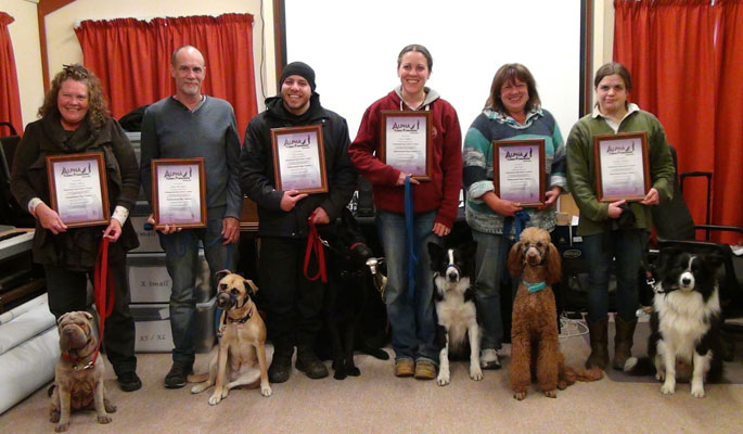 Graduates from Alpha Canine Professional
